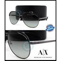 Lentes Gafas Armani Exchange Ax2002 Gunmetal - Grey Gradient
