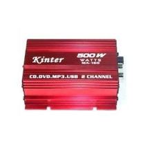 Mini Modulo Amplificador Kinter M-150 Ipods Carro Barco