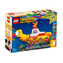 Lançamento Lego Yellow Submarine The Beatles