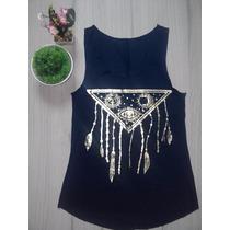 Blusinha Camiseta Regata Feminina - T-shirt