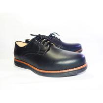Sapato Social Em Couro Masculino Conforto-37 Ao 44-3 Cores-2