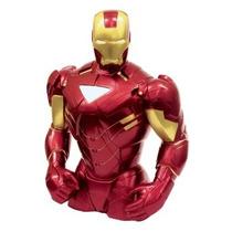 Alcancía De Iron Man Avengers Rojo Marvel Nueva Original