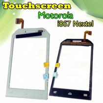 Touch Pantalla Tactil Motorola I867 Nextel Blanco, Nuevo!!!!