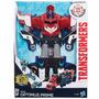 Transformers - Mega Paso Optimus Prime, Playset