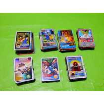 Lote De Cartas Dragon Ball Z Kai - Varios - Angry Birds Star