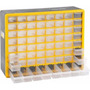 Organizador Gaveteiro Plástico Opv 310 Com 64 Gavetas Vonder