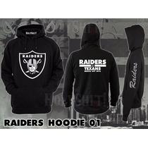 Sudadera Hoodie Raiders Vs Texans Nfl Straight Raider Nation