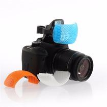 3 Cores Difusor Flash Pop Up Pentax Fujifilm Kodak Leica