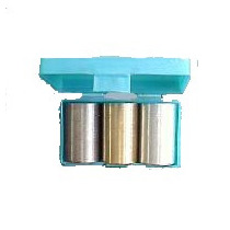 Cilindros De Tres Metales Usados Para Medir Densidades