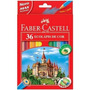 Lápis De Cor Sextavado 01 Estojo C/36 Cores Faber-castelo
