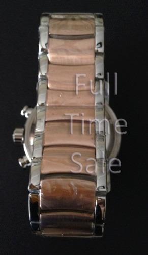 02c78ce17cf Pulseira P  Relógio Bulgari Iron Man (mista Rosê C  Prata) - R  135 ...
