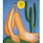 Painel Foto Obra Abaporu Tarsila Do Amaral 90x106cm