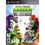 Plants Vs Zombies Garden Warfare Ps3 Nuevo Sellado Original.