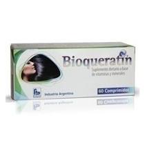 Bioqueratin Pastillas Keratina Para Crecimiento Cabello X 60