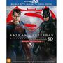 Blu Ray 3d + 2d Batman Vs Superman - A Origem Da Justiça