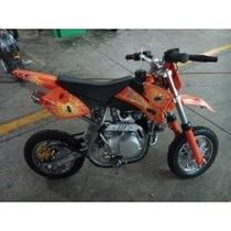 Moto Cross 90cc Motor De 4 Tiempos