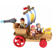 Barco Do Nunca Jamáis Jake E Os Piratas Fisher Price