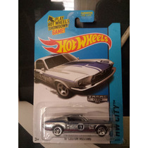 H.w 67 Custom Mustang. Zamac. 50 Aniversario. T. Americana
