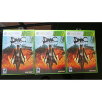 Devil May Cry Xbox 360 Nuevo, Sellado