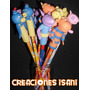 Hermosos Lapices Decorados Con Figuras De Backyardigans.
