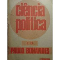 Livro Ciência Política - 5ª Edição Paulo Bonavides