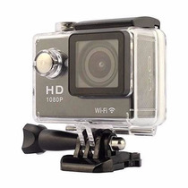 Action Camera Full Hd Filmadora H.264 Wi-fi 1080p Tela 2