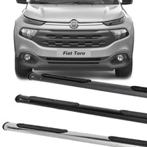 Estribo Oblongo Fiat Toro Cor Cromado