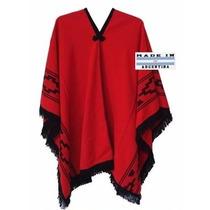 Pala De Lã Argentino Poncho Gaucho Rodeio Jaqueta