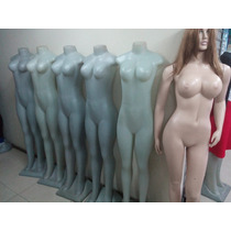 Maniquies Cuerpo Completo Mujer C/sin Pelucas
