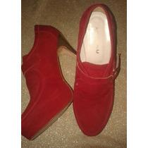 Zapato De Gamuza