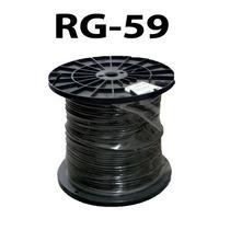 Cable Coaxial Rg-59 96% Malla Bobina De 305mts