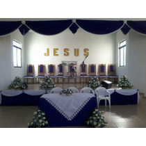 Cor/de Igreja Sob Medida Cida Chagas 6,00 X 3.00 Altur