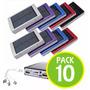 Pack 10 Cargador Portatil Solar 20.000mah Dual / Fernapet