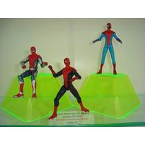 Spider Man Amazing Filme 3 Bonecos Homem Aranha