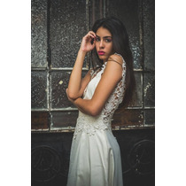 Alquiler De Vestido De Novia Beige