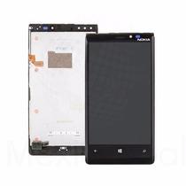 Pantalla Lcd Touch + Cristal + Frame Nokia Lumia 920 Nueva.!