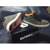 Zapatillas Dunkelvolk Skater Shoes Gray Talla 42 Y 43 Nuevas