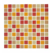 Caja 22 Pzs Azulejo Mosaico Veneciano Rojo Cocina O Baños
