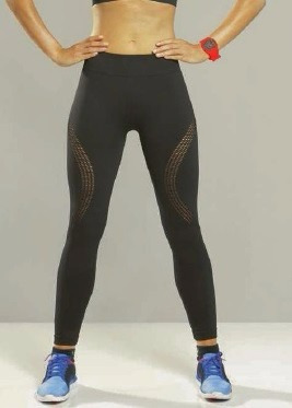 a30ba6792 Calça Legging Fitness Lupo Feminina Open Air 71542 - R  79