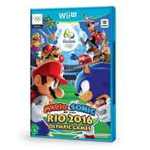 Mario E Sonic Olimpiadas Rio 2016 Nintendo Wii U Lacrado New