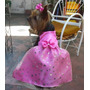 Vestido De Fiesta Para Perritas/ Ropa Para Perros/mascotas