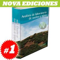 Análisis De Laboratorio De Suelos Y Aguas. Nuevo Y Original