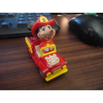 Tomica Tomy Carrito Vintage Mickey Mouse Hecho Japon