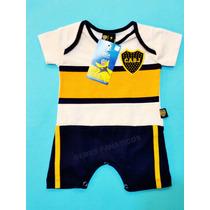 Body Boca Bebe * Original Camiseta Enterito Osito Niño River