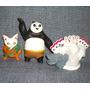 3 Figuras Kung Fu Panda Toys Froy Hm4