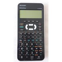 Calculadora Científica Sharp Display Lcd De 4 Líneas El-w535
