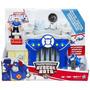 Transformer Rescue Bots Estacion De Policia Y K9 Perro-bot