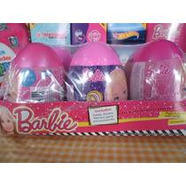 Mega Huevo Sorpresa Barbie 6pz Plastico