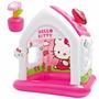 Casita Inflable De Hello Kitty Niñas Piscina