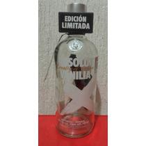 Botella De Absolut Vodka Vanilia Edición Limitada